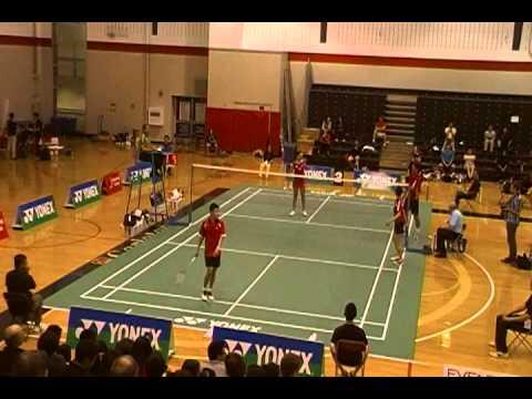 2013 yonex ottawa international challenge - Mixed Doubles Semi-Final (part1)