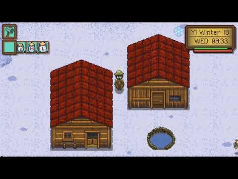 Winter Harvest!! Gleaner Heights Gameplay - 72