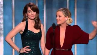 Abertura do Globo de Ouro 2013 (Golden Globe Awards) - Tina Fey and Amy Poehler -Legendado Portugues