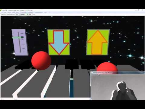 Kinect GlovePie+OSC | Kinect Hacks