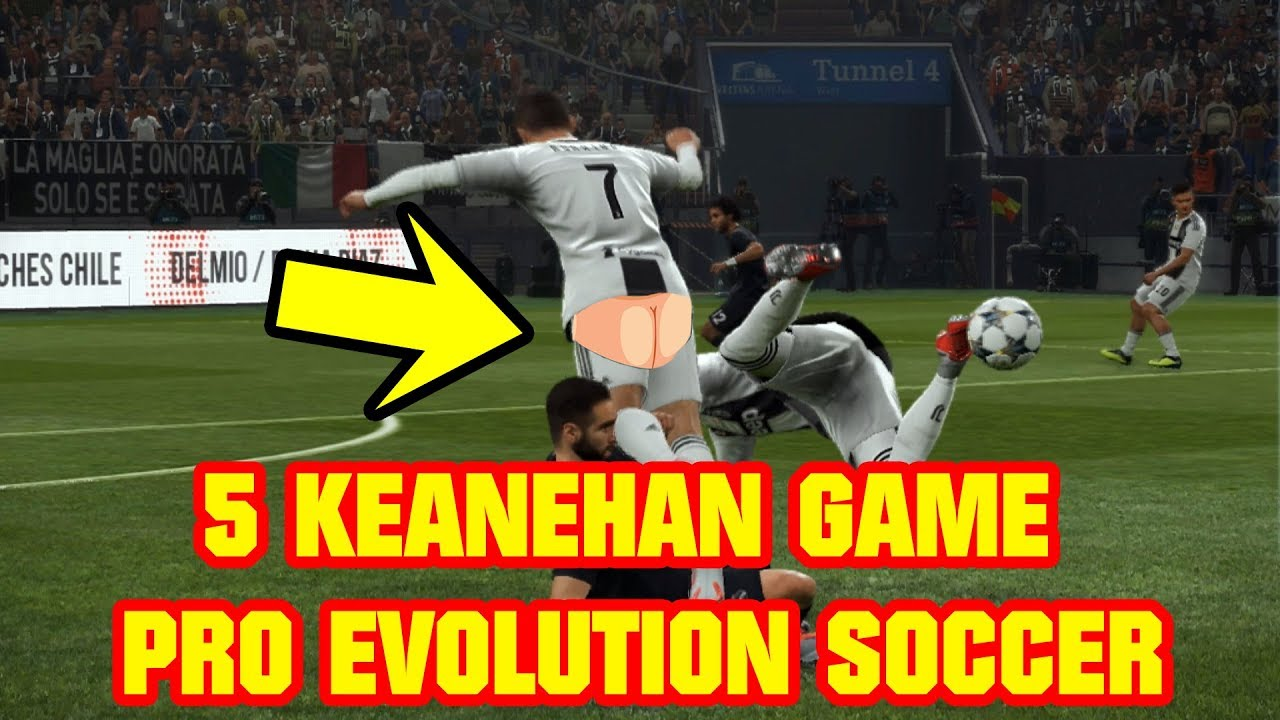 5 KEJADIAN ANEH DI GAME PRO EVOLUTION SOCCER