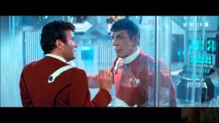 Star Trek II:The Wrath of Khan Battle in the Mutara Nebula:Death of Spock 5/8