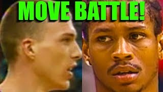 Basketball Moves: Iverson Vs. Jason Williams - Streetball Crossovers!