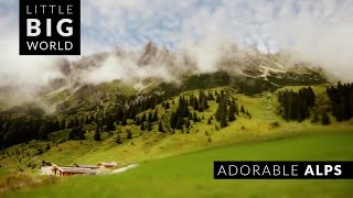 Adorable Austrian Alps (4k - Time Lapse - Tilt Shift - Aerial)