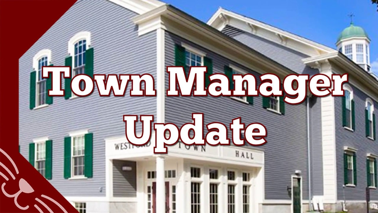 Town Managers Report - March 28th, 2018