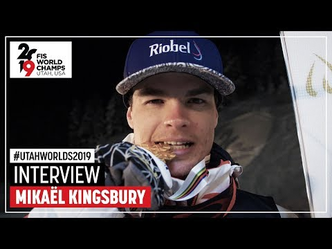 "Mikael Kingsbury | ""It's a great moment"" 