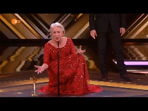 Helen Mirren Goldene Kamera 2016 Lebenswerk