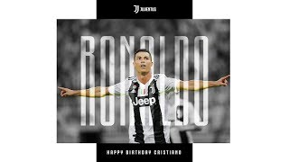 Happy birthday, Cristiano Ronaldo!