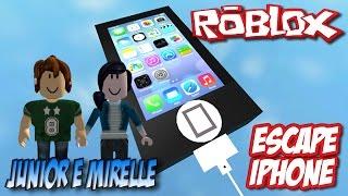 Roblox - Escape iPhone (Jr e Mi)