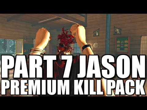 Part 7 Jason Premium Kill Pack (Friday the 13th The Game)