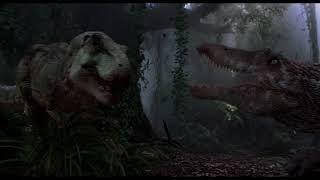 Jurassic Park III: T.rex vs Spinosaurus (W/ Original Score)