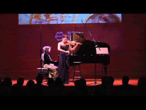 Anne Akiko Meyers Plays Bach's 'Air' on the ex-Napoleon/Molitor Stradivarius Violin