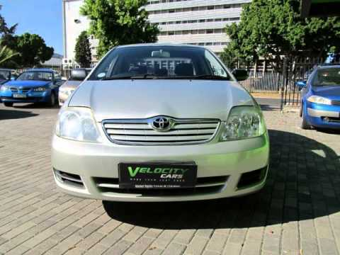 2004 toyota corolla 140i auto for sale on auto trader south africa youtube. Black Bedroom Furniture Sets. Home Design Ideas