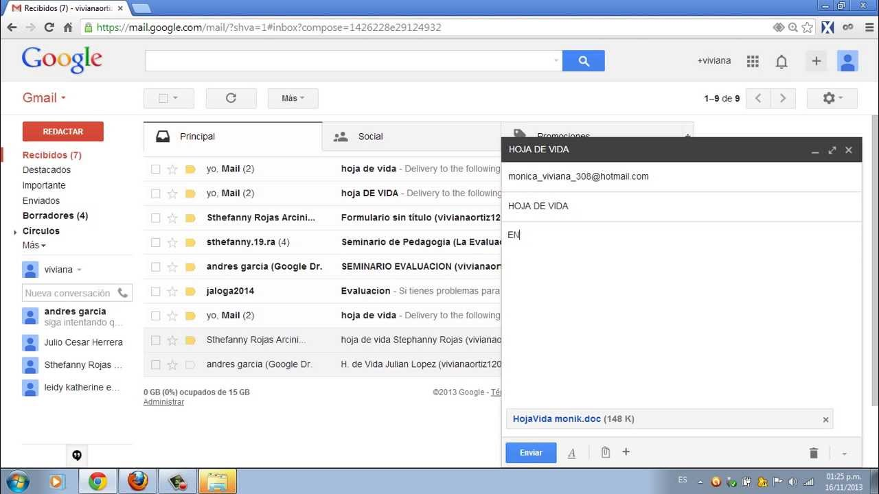 how to make gmail function like outlook
