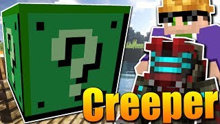 EXTRÉMNÍ CREEPER LUCKY BLOCKY!😱😂💣 Minecraft Lucky Block Race w/Martin