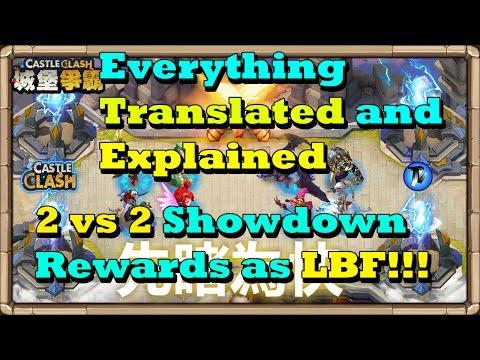 Castle Clash - New Event Gameplay | Rewards Explained | Everything Translated And Explained