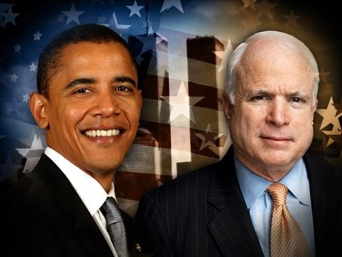 barack obama vs john mccain Barack obama and john mccain on abortion and gay marriage the culture wars are back this presidential election.