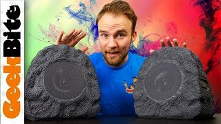 These Big Rocks Are SECRETLY Bluetooth Speakers!