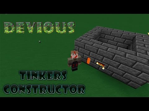 Minecraft - Tinkers Constructor - Como hacer horno