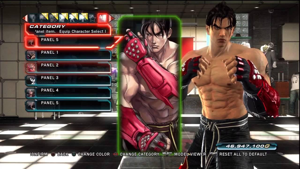 Tekken Tag Tournament 2 Jin Kazama S Panels Youtube
