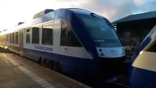 Harz Elbe Express in Wernigerode nach Goslar