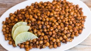 How To Make Garlic And Cumin Roasted Chickpeas