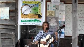 "Sam Gleaves Sings ""Working Shoes"" on the porch of the BW Country Store"