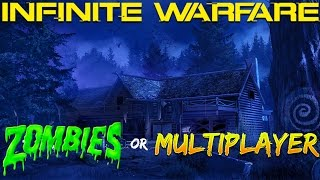 DLC1 TEASED for INFINITE WARFARE! ZOMBIES or MULTIPLAYER!?