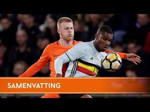 Samenvatting Jong Oranje - Jong België (22/3/2018)