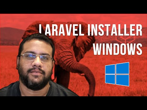 Vídeo no Youtube: Laravel Installer no Windows | Laravel Mastery #laravel #php