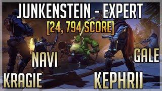 NEW SKINS & JUNKENSTEIN ON EXPERT! (Ft. Gale, Navi, Kragie) thumbnail