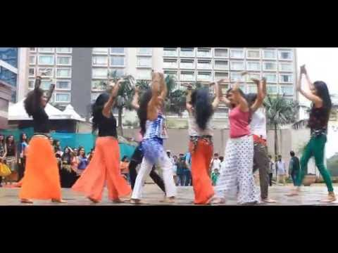 Flash Mob India in UB City Bangalore