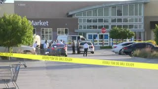 A body is found inside a car parked outside a Homestead Walmart.