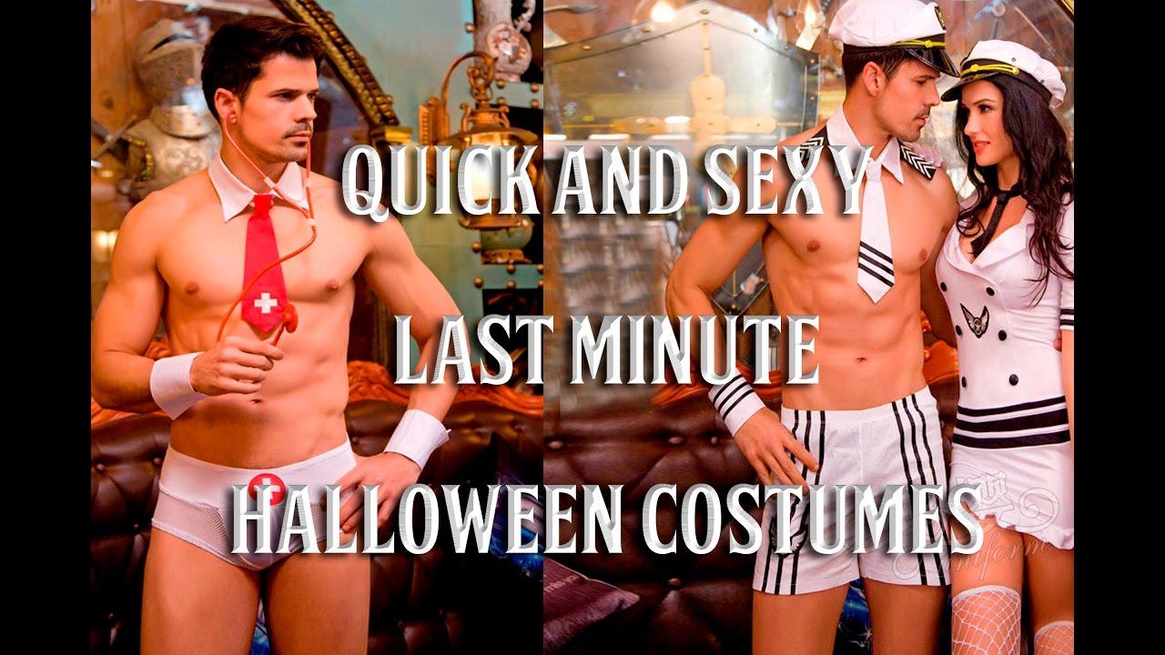 Sexy last minute costume