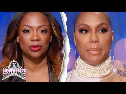 Tamar Braxton goes in on Kandi Burruss Celebrity Big Brother  FEED