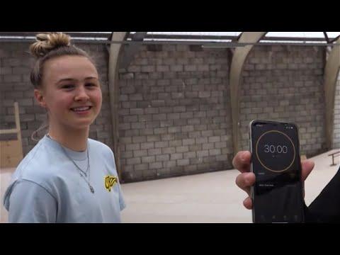 30 MINUTES WITH KEET OLDENBEUVING @ WORLD SKATE CENTER IN NETHERLANDS! | Santa Cruz Skateboards