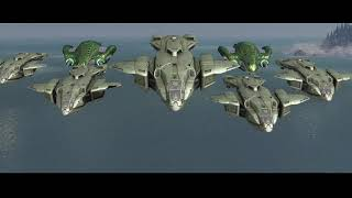 Halo 3 MCC The Covenant Opening Scene HD