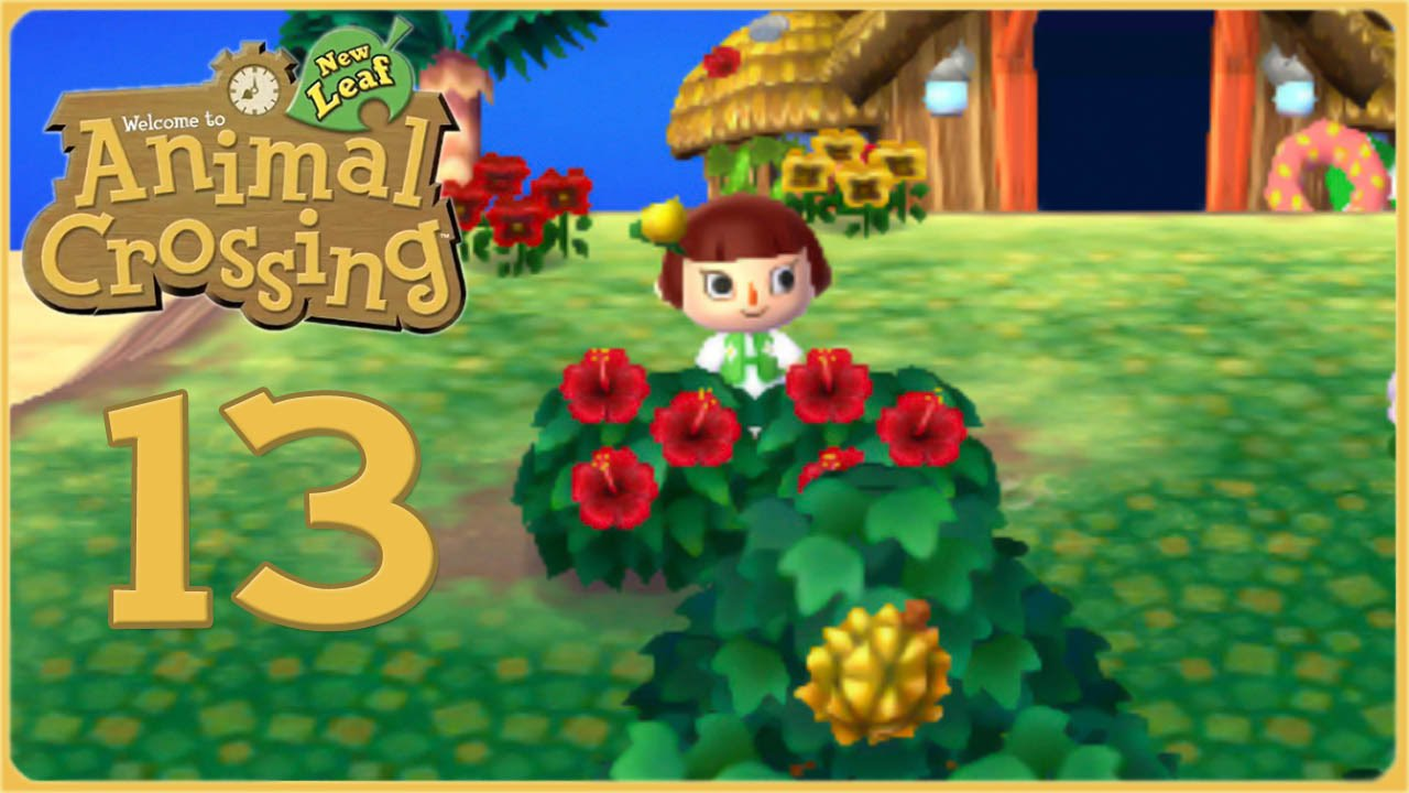 Island Adventures Hibiscus Flowers Animal Crossing New Leaf