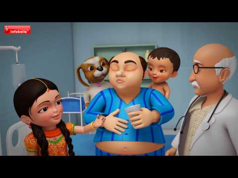 Thumbnail: Lalaji Ladoo Laaye | Hindi Rhymes for Children | Infobells