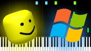 Windows Sounds But It's Roblox Death Sound!!!