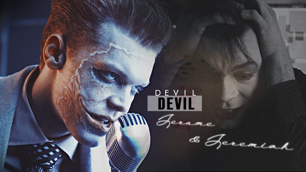 Jeremiah Amp Jerome Valeska Devil Devil Gotham YouTube