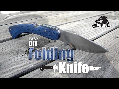 How To Easily Make A Folding Knife