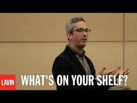 David Sax: What's On Your Shelf?