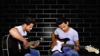 Ek ajnabi haseena se guitar instrumental with chords