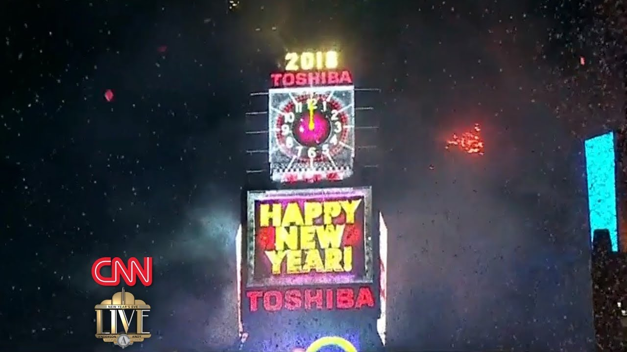 CNN's New Year's Eve Live 2018 with Anderson Cooper and ...
