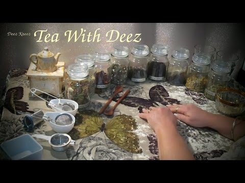 Herbal Tea Sampling Role Play ASMR