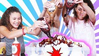 WORLD&#39S LARGEST ICE CREAM SUNDAE!!!