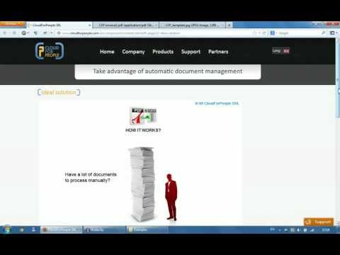 How PDF2Data service works (invoice processing and data extraction