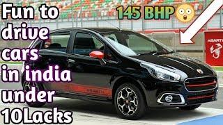 Top 5 most fun to drive cars in india under 10 lacks 2018   Car Guru   [ ford,VW,nexa,fiat ]