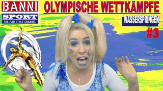FACEBOOK Trailer Wasserspringen Diving Buceo - Olympic Wettkampf - Banni Sport Fan Style & Make-up